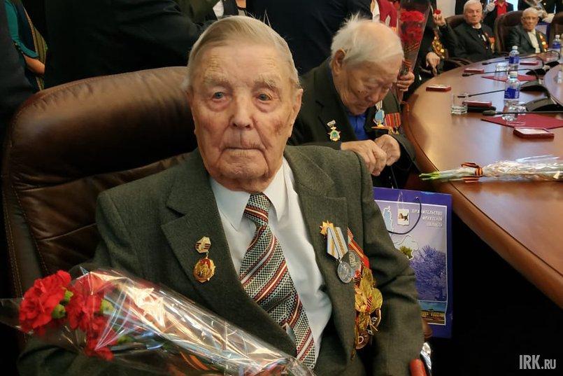 Иван Прядко на торжественном приеме губернатора Иркутской области