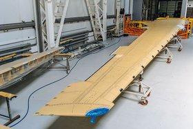 Консоль крыла МС-21-300. Фото с сайта irkut.com