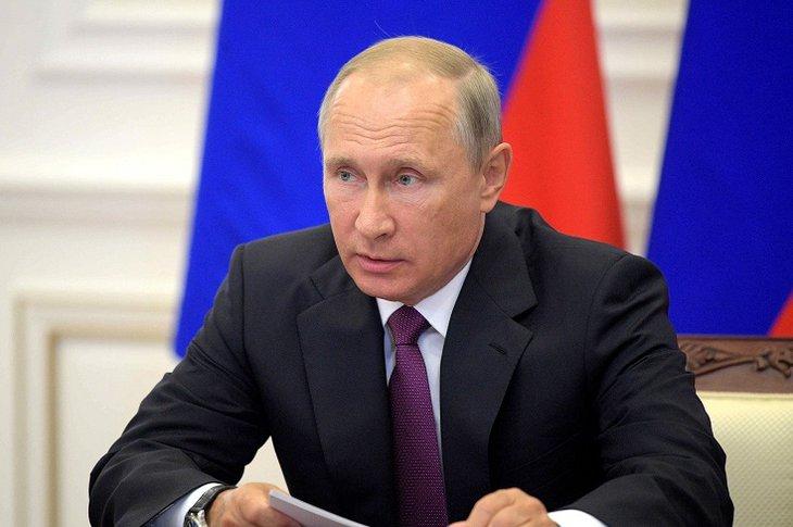 Владимир Путин. Фото с сайта fg24.ru
