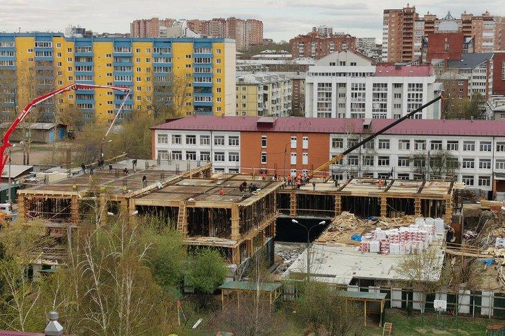 Школа №14 на улице Карла Либкнехта. Фото IRK.ru