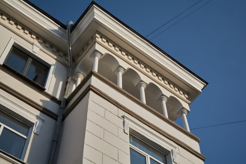 Дом считался очень престижным из-за качества квартир и удобного расположения в центре Иркутска