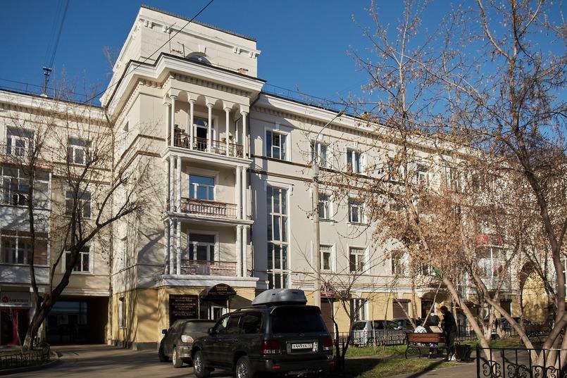В 1940-1950-е годы этот жилой дом считался самым большим в центре Иркутска