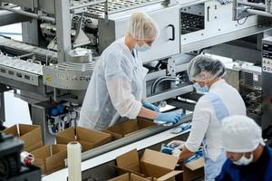 На фабрике заняты около 30 работников