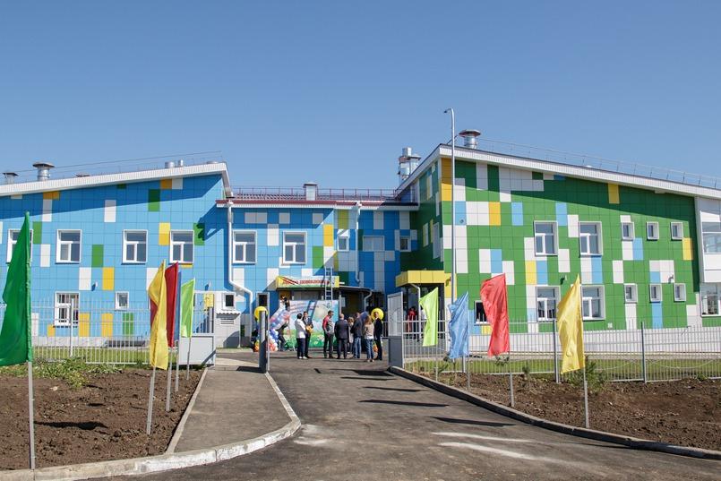 Детский сад в Новолисихе