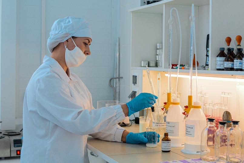 С помощью современных методов исследования проводится постоянный контроль качества