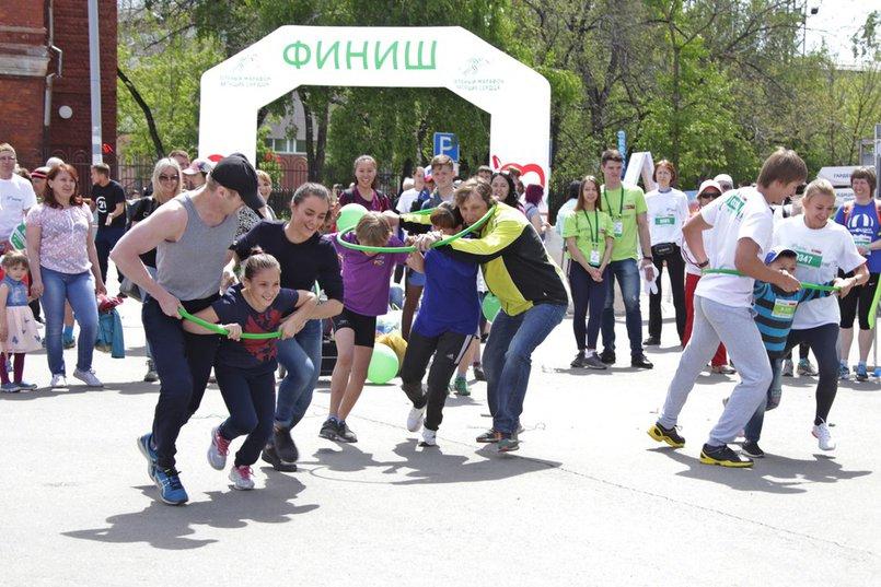 Во время Зеленого марафона в 2018 году