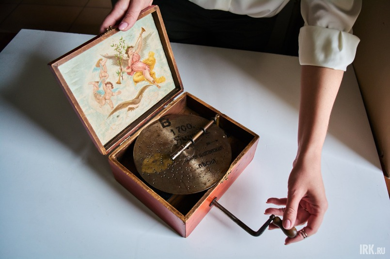 Польская музыкальная шкатулка (полифон), 1890 год