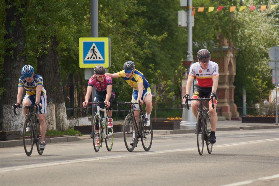День велосипедиста в Иркутске