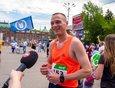 Александр Попов: «Бежалось хорошо, трасса хорошая, ровная, можно бежать быстро, да и дыхание в спину чувствовалось».