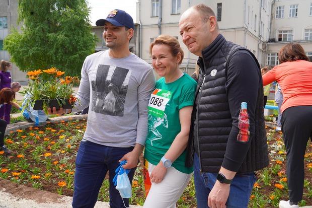 Юлия Кальвина и Юрий Козлов
