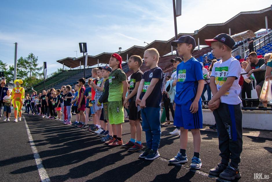 5 июня, в День города, Иркутск присоединился ко всероссийской акции Зелёный марафон.