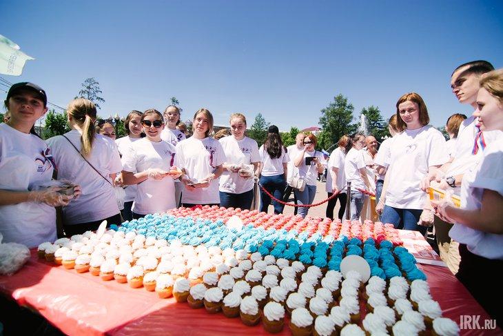Празднование Дня России в Иркутске. Фото Никиты Пяткова