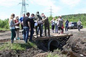 фото В Пади Грязнуха Иркутска снизился уровень грунтовых вод