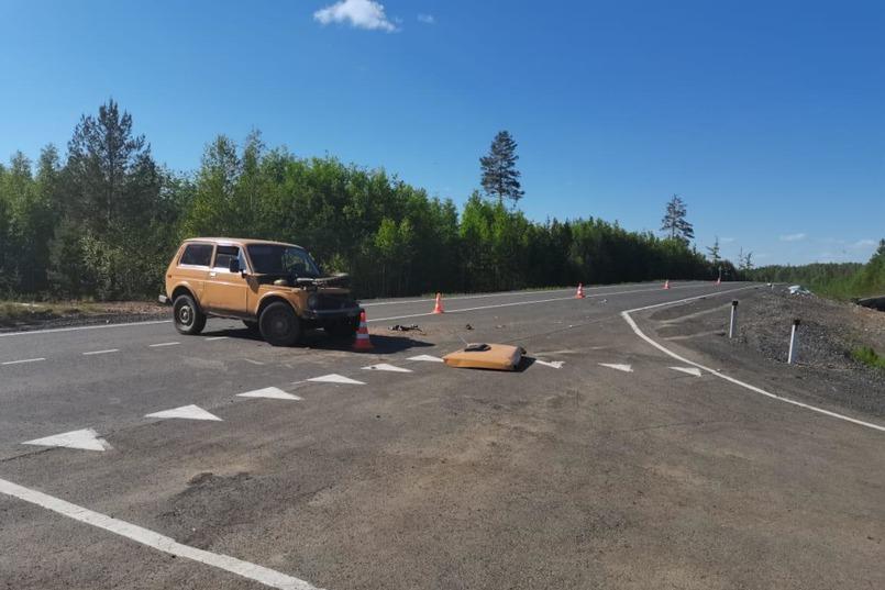 ДТП на 57-м километре трассы «Вилюй»
