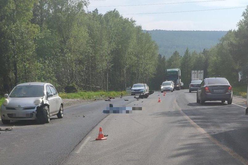 ДТП на 86-м километре автодороги «Байкал»