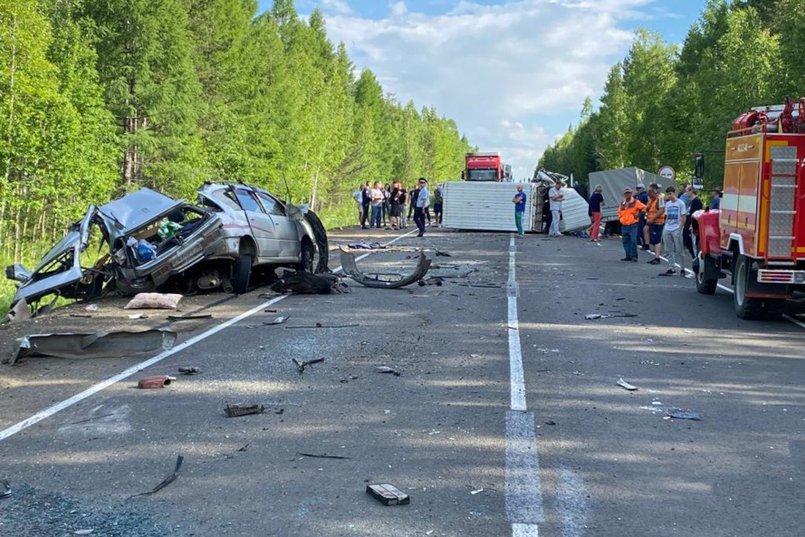 ДТП в вблизи деревни Новое Приречье Братского района