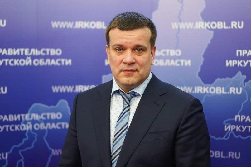 Министр образования Иркутской области Максим Парфенов