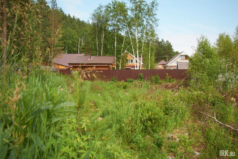 По словам Валентины Геннадьевны, новая владелица вырубила деревья, собирается поставить забор и продать землю