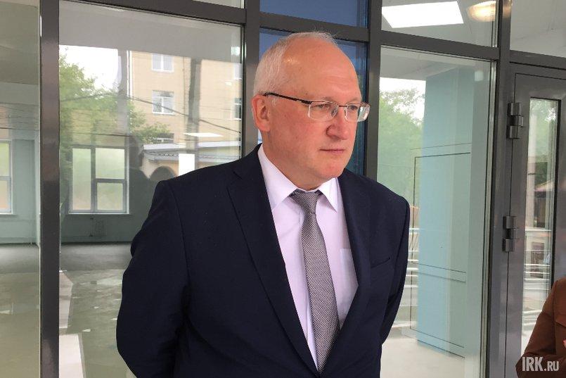 Евгений Выговский, главный врач медсанчасти ИАПО