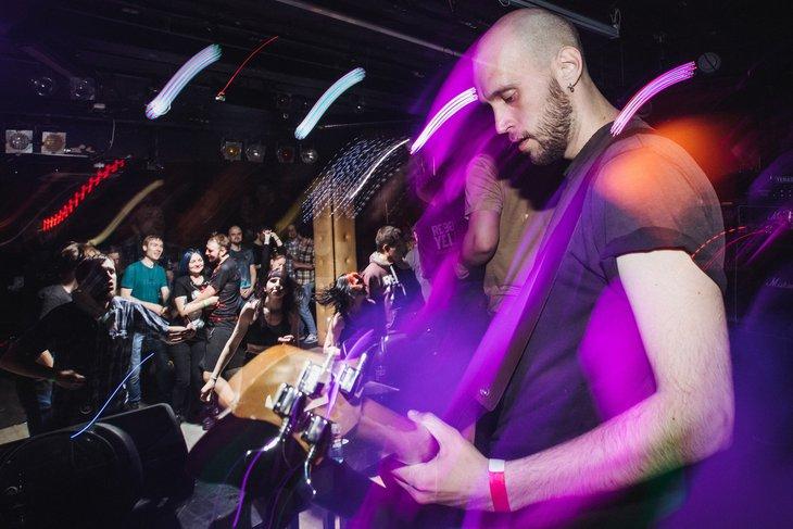 Группа Stempline в «Эдисон баре». Фото Артема Моисеева