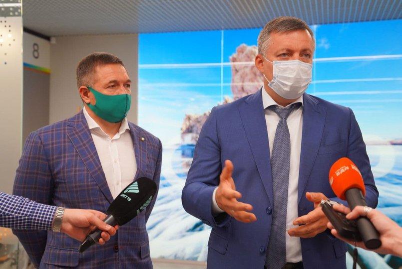 Александр Абрамкин и Игорь Кобзев