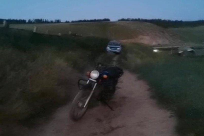 ДТП в деревне Прохоровка Осинского района