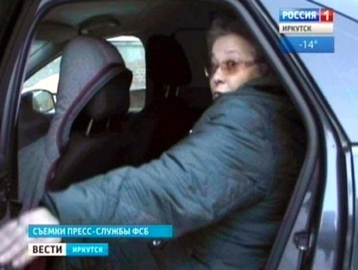 Галина Шумихина. Скрин сюжета «Вести — Иркутск»