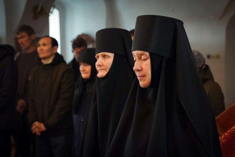 Мать Нина и мать Христина