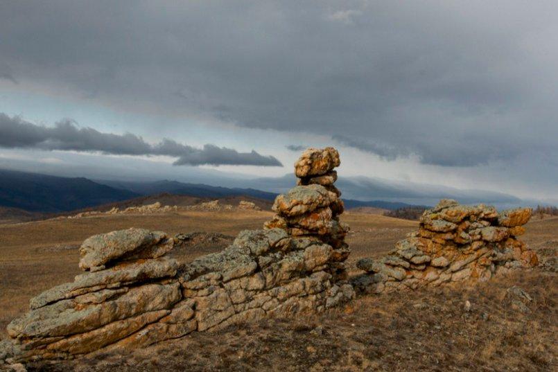 Тажеранские степи. Фото Андрея Таничева, Заповедное Прибайкалье