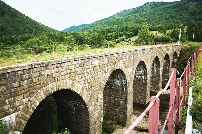 Мост через Ангасолку. Фото Маргариты Романовой