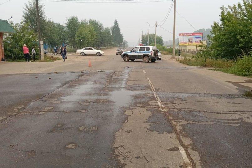 ДТП в поселке Чунский