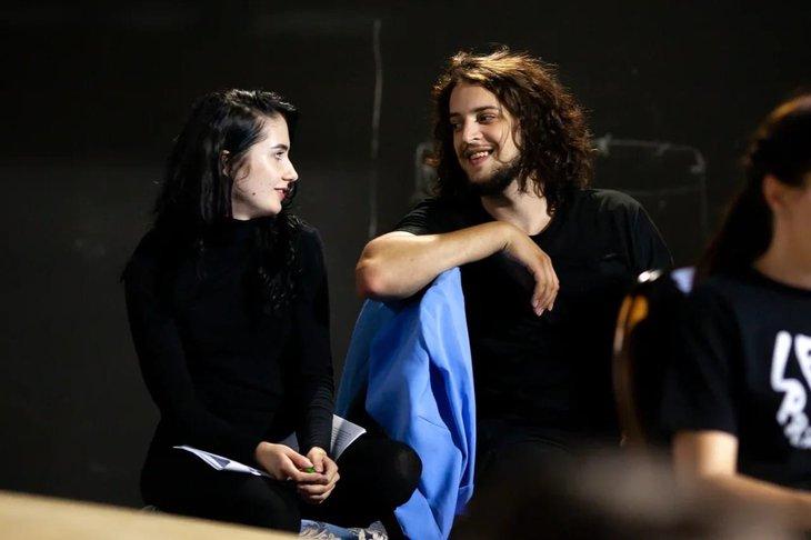Актёры театра «Аистёнок» на читке спектакля «Дядюшкин сон»