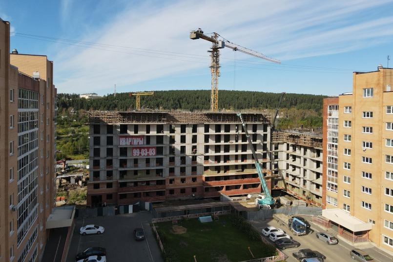 Ход строительства ЖК. Фото сделаны в августе 2021 года