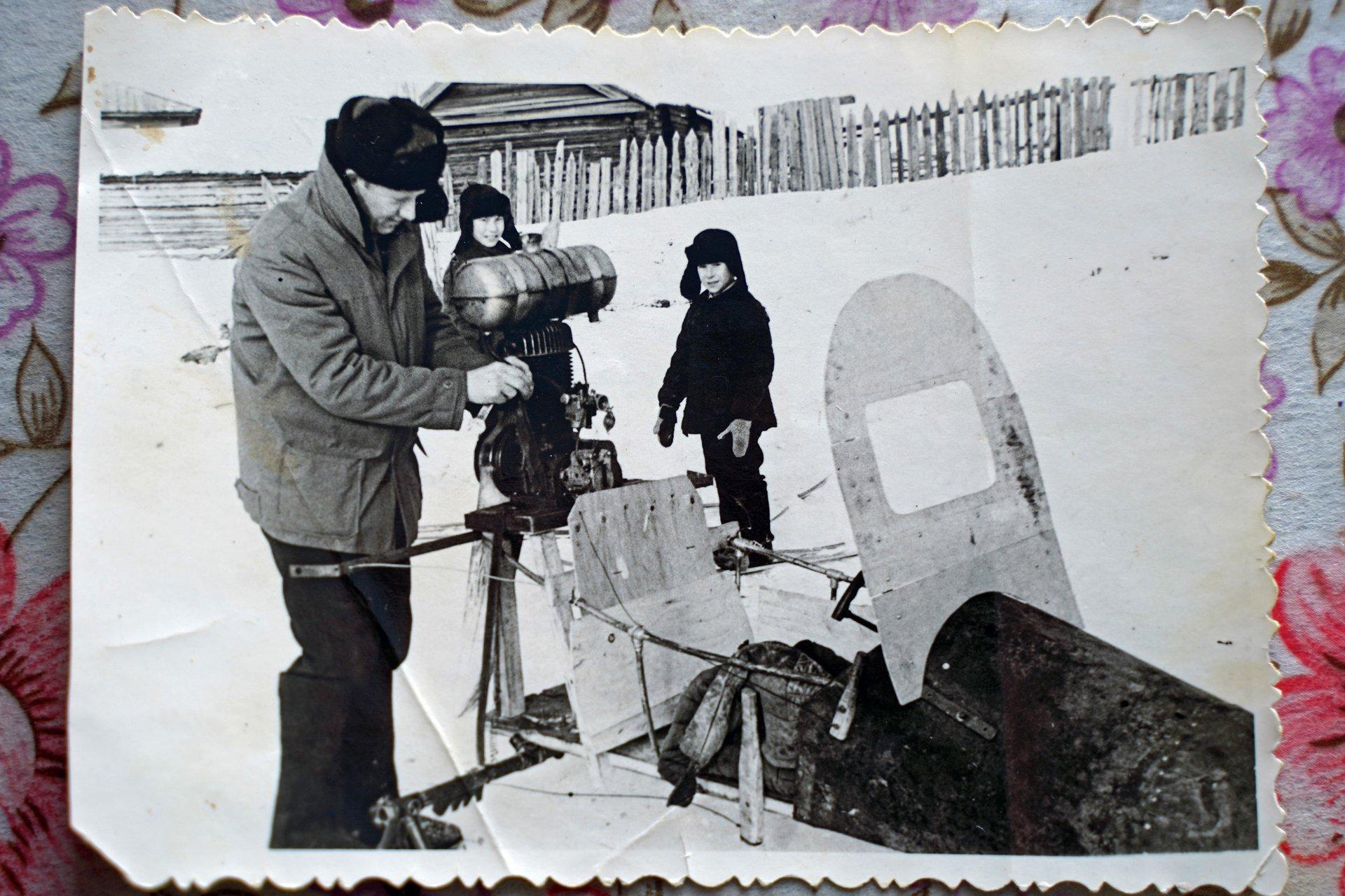 Виктор Евланов, учитель труда