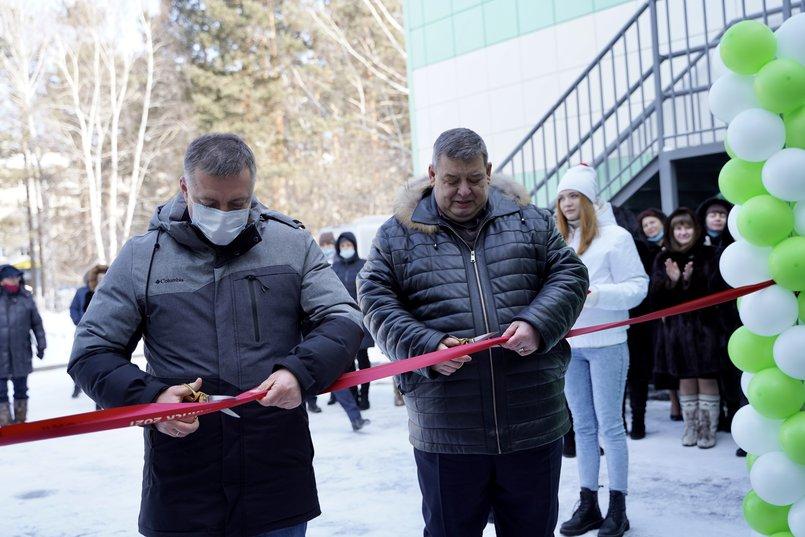 Игорь Кобзев и мэр Саянска Олег Боровский