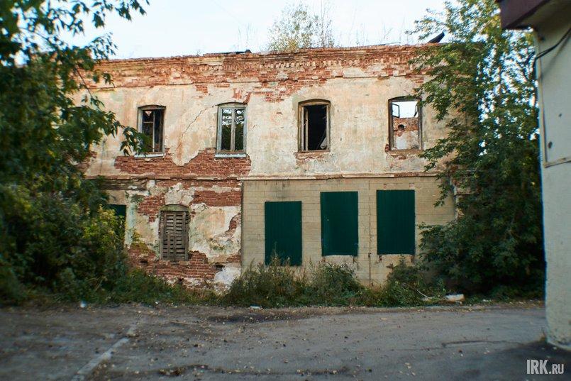 Дом иркутского купца Ивана Самсонова, в котором с апреля по июль 1915 года находилась подпольная типография большевистской организации «Союз типографских рабочих»