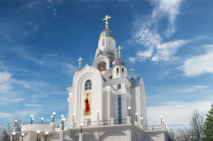 Вид на главный вход. Западный фасад. Изображение с сайта alexnev.ircenter.ru