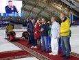 На спортивном мероприятии присутствовал глава региона Игорь Кобзев