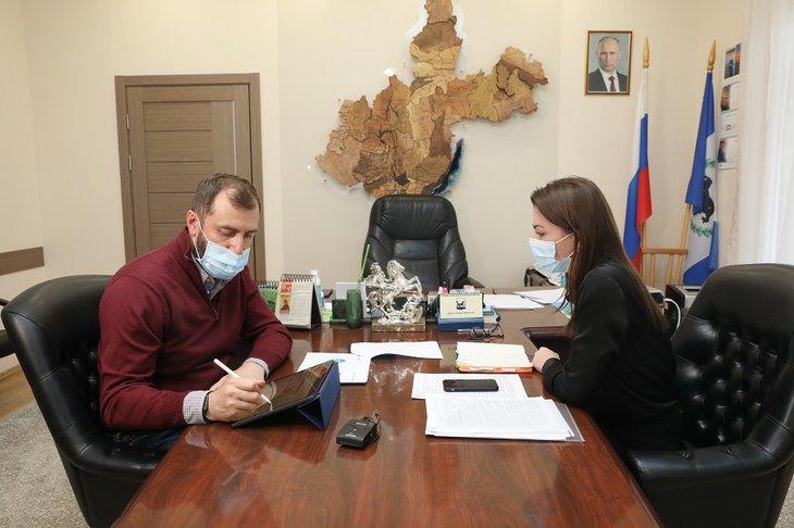 Фото: пресс-служба Заксобрания Иркутской области