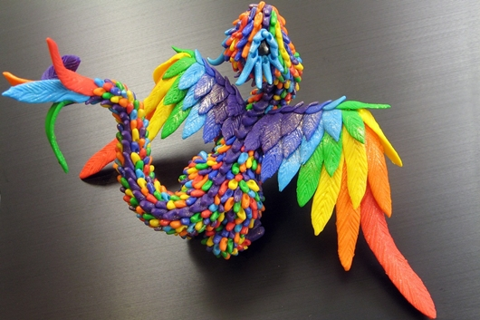 Радужный дракон Миракс