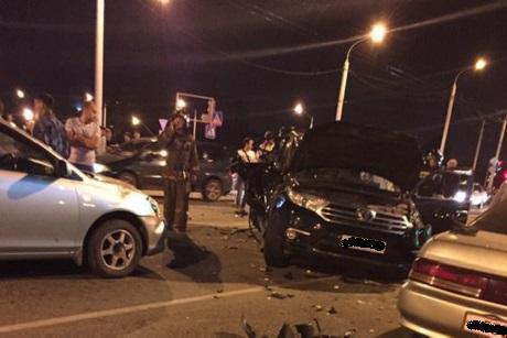 На месте аварии. Фото из группы ДТП 38RUS «ВКонтакте»