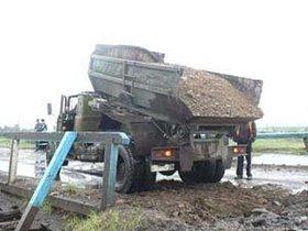 Восстановительные работы в Тулуне. Фото пресс-службы администрации Тулун, с сайта КП-Иркутск.