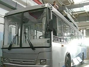 Беспроводной троллейбус. Фото с сайта www.bratsk-city.ru