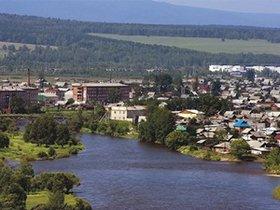 Река Уда в Нижнеудинске. Фото с сайта pribaikal.ru.