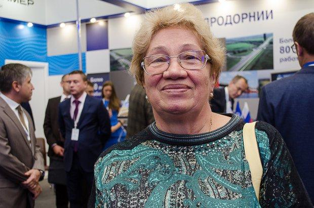 Людмила Суслова. Автор фото -- Илья Татарников