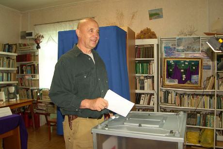 На голосовании. Фото www.irkutsk.izbirkom.ru