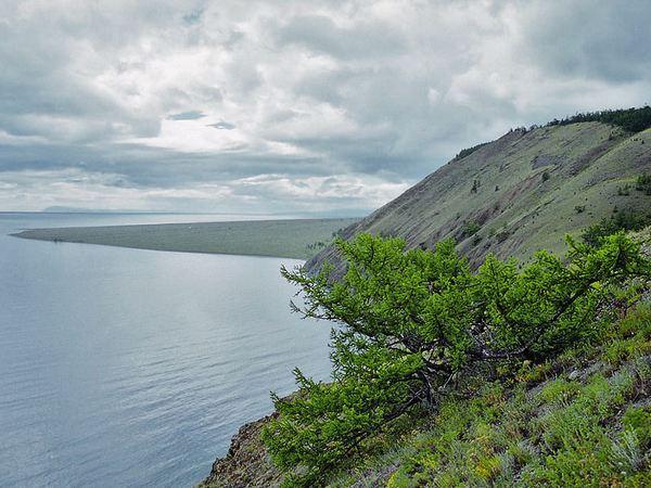 Вид на мыс Рытый. Автор фото — Александр Рютин. Фото с сайта www.nature.baikal.ru