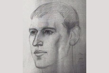 Портрет разыскиваемого. Фото предоставлено пресс-службой ГУ МВД России по Иркутской области