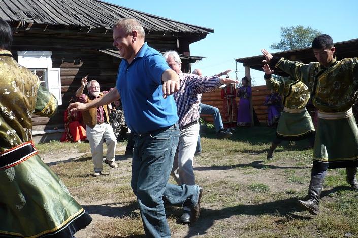 Делегация в Усть-Орде