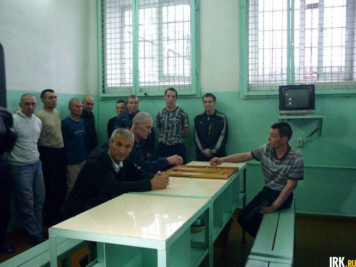 Камера содержания неоднократно судимых заключенных